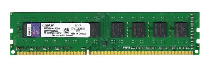 Оперативная память Kingston DDR3-1333 4096MB PC3-10600 (KVR1333D3N9/4G) for (AMD)